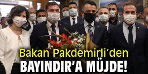 Bakan Pakdemirli'den Bayındır'a müjde!