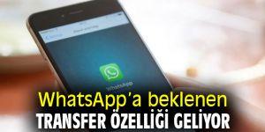 WhatsApp için numaralar arası transfer özelliği geliyor