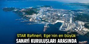 STAR Rafineri, Ege'nin en büyük sanayi kuruluşları arasında