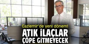 Gaziemir'de yeni dönem! Atık ilaçlar çöpe gitmeyecek