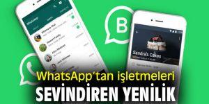 WhatsApp Business için hızlı mesajlaşma menüsü