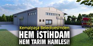 Kemalpaşa Belediyesi'nden zeytinyağı tesisi