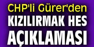 CHP'li Gürer'den Kızılırmak HES açıklaması