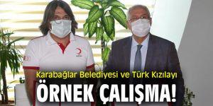 Karabağlar Belediyesi ve Türk Kızılayı örnek çalışma!