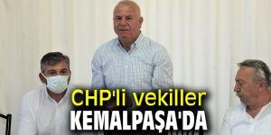CHP'li vekiller Kemalpaşa'da