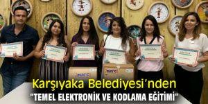 """Karşıyaka Belediyesi'nden """"Temel Elektronik ve Kodlama Eğitimi"""""""