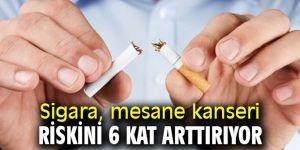 Dikkat! Sigara, mesane kanseri riskini 6 kat arttırıyor