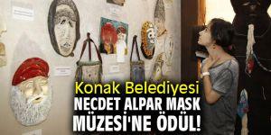 Konak Belediyesi Necdet Alpar Mask Müzesi'ne ödül!