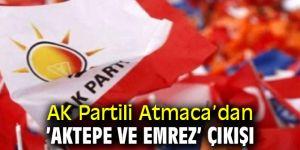 "AK Partili Atmaca, ""Vatandaşın kaybı 100 metrekare üzerinde yani 700 bin TL"""