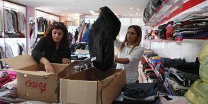 Bayraklı'da 5 bin kişiye kıyafet desteği