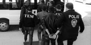 eş zamanlı operasyonda 20 kişi gözaltına alındı.