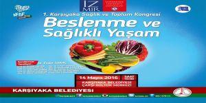 Karşıyaka'da Sağlıklı Toplum İçin Kongre Yapılacak