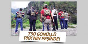 750 Kişi 'Gönüllü Köy Korucusu' Oldu.