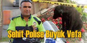İzmir'in Şehit Polisine Büyük Vefa
