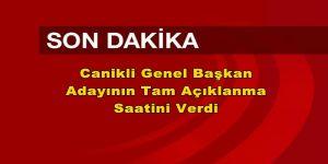AK Parti'nin Genel Başkanı Yarın Belli Oluyor