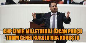 CHP'Lİ PURÇU TBMM GENEL KURULU'NDA KONUŞTU