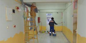 Dikili'de okullar ikinci döneme hazırlanıyor