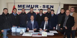 Bem-Bir-Sen İzmir'de toplu üye kaydı heyecanı