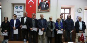 Urla Belediyesi Eğitim Programı'nda sertifika heyecanı