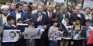 Suriye'nin katili Esed ve küresel emperyalizmdir