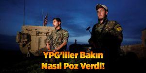 YPG'liler Bakın Nasıl Poz Verdi!