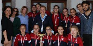 Urlalı miniklerin hedefi Türkiye Şampiyonluğu
