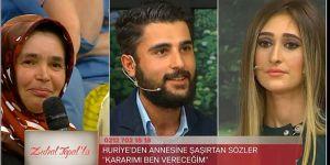 """Zuhal Topal'la da """"Huriye ilk defa annesiyle karşı karşıya geldi!"""""""