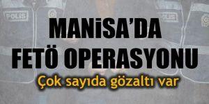 Manisa'da FETÖ operasyonu... 46 ByLock kullanıcısı gözaltında