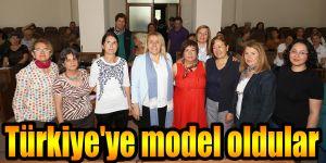 Türkiye'ye model oldular