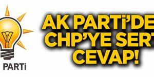 """AK Parti'den CHP'ye """"yargıya müdahale"""" cevabı"""