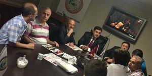 Dünya Balkan Dernekleri federasyonunda  Suriyeli mülteciler konuşuldu