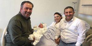 CHP'li Çağdaş Kaya baba oldu