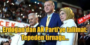 """Cumhurbaşkanı Erdoğan'dan AK Parti'ye talimat: """"Tepeden tırnağa..."""""""