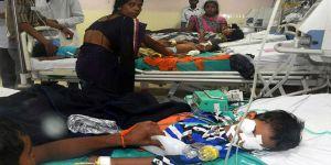 Oksijen yokluğundan 30 çocuk öldü