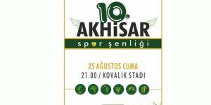 10. Akhisar Spor Şenliği 25 Ağustos'ta başlayacak