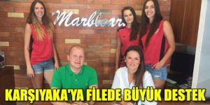 Karşıyaka'ya filede büyük destek