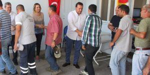 Başkan Soylu, çalışma arkadaşlarıyla bayramlaştı