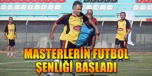 MASTERLERİN FUTBOL ŞENLİĞİ BAŞLADI