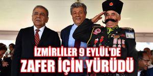 İzmirliler 9 Eylül'de zafer için yürüdü