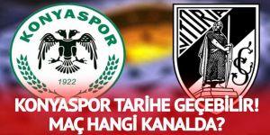 Konyaspor Vitoria Guimaraes maçı saat kaçta, hangi kanalda?