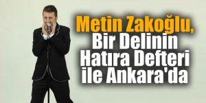 Metin Zakoğlu Bir Delinin Hatıra Defteri İle Ankara'da