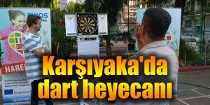 Karşıyaka'da dart heyecanı