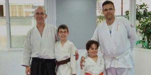 Babalar ve oğulları için spor zamanı