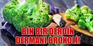 Bin derdin dermanı brokoli