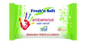 Fresh'n Soft Antibacterial, mikroplara karşı savunma kalkanınız oluyor