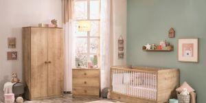 Çilek ile ahşabın doğallığı bebek odalarında esiyor