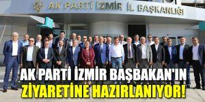 AK Parti İzmir Başbakan'ın ziyaretine hazırlanıyor!