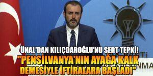 """""""Kılıçdaroğlu Pensilvanya'nın ayağa kalk demesiyle iftiralara başladı"""""""
