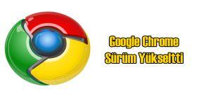 Google Chrome Sürüm 50'ye Yükseltildi