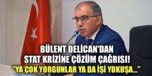 Bülent Delican'dan  Stat krizine çözüm çağrısı!